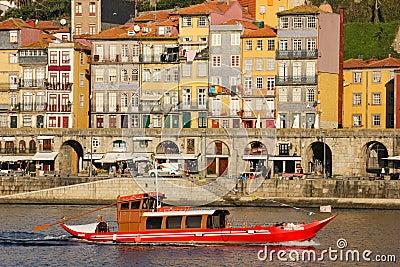 Panoramic view. Porto. Portugal Editorial Stock Image