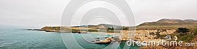 Panoramic View of Spooner s Cove,