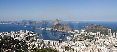 Panoramic View of Sugar Loaf