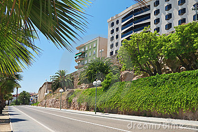 panoramic view of Tarragona