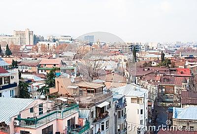 Panoramic view. Tbilisi. Georgia.
