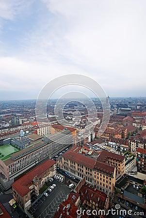 Panoramic View Torino, Italy
