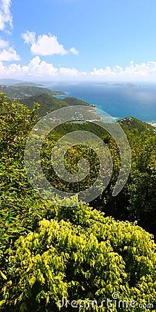 Panoramic View of Tortola