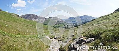 Panoramic view towards Sheffield Pike