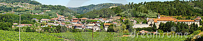 Panoramic view of the village of San Clodio