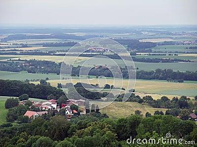 Panoramic view from Waldenburg