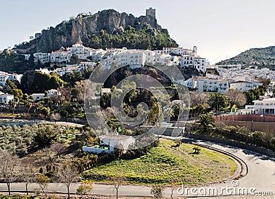 Panoramic view of Zahara
