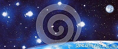Panoramiczny kosmos