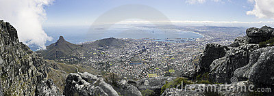 Panorma of Cape Town