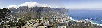 Panorma of Table Mountain