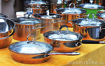 Pans for cooking