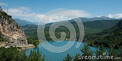 Panta D Escala reservoir Catalonia Spain