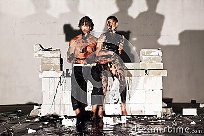 Panta Rhei VII Finale, Performance Art. Editorial Photo