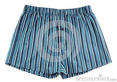 Pantalones rayados de los hombres