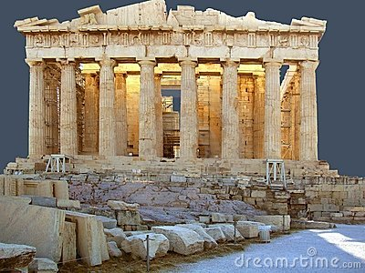 The Panthenon on the Acropolis