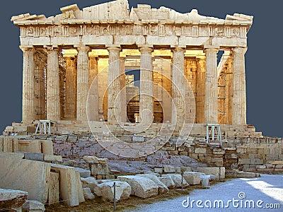 The Panthenon on the Acropolis