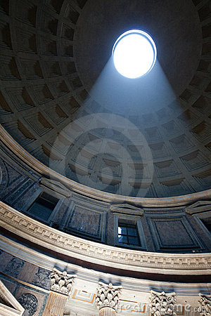 Pantheon Dome Stock Photo - Image: 19981610