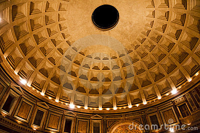 Pantheon dome Rome