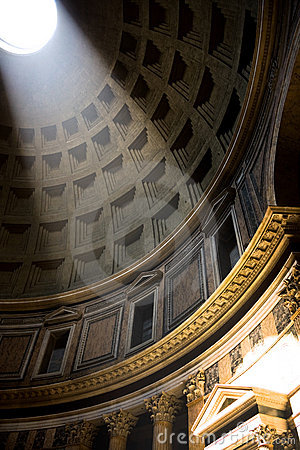 The Pantheon interior, Rome