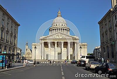 Pantheon of Paris, france Editorial Stock Photo