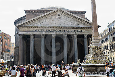 Pantheon, Rome Editorial Stock Image