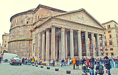 Pantheon, Rome Editorial Photo