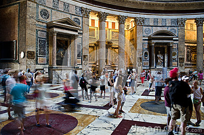 Pantheon, Rome Editorial Stock Photo