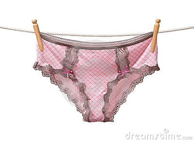 Panties on a Clothesline