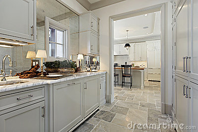 Pantry In Luxury Home Royalty Free Stock Image Image