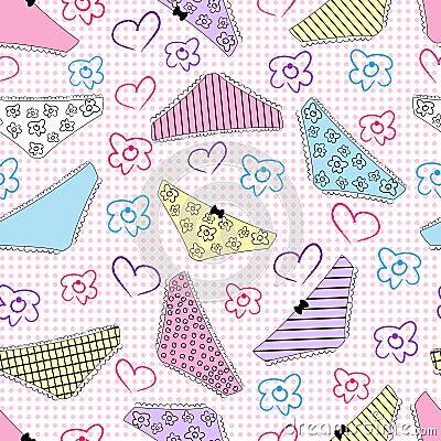 Pants pattern seamless background