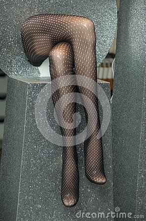 Free Pantyhose On Mannequin Legs In Store Showroom Royalty Free Stock Image - 135924626