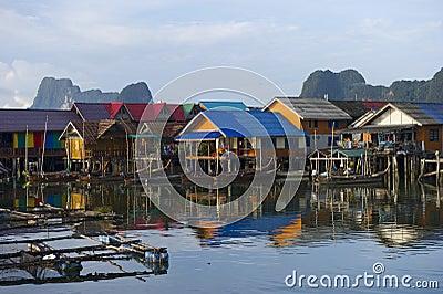 Panyee Island in Phang Nga Province, Thailand