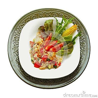 Free Panzanella Italian Bread Salad Stock Images - 15150194