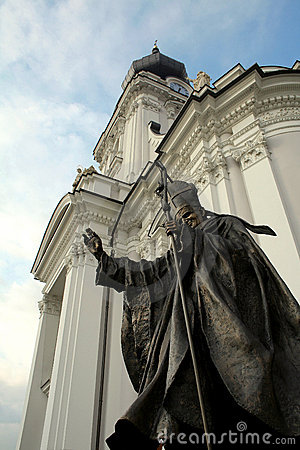 Papa John Paul II Statue