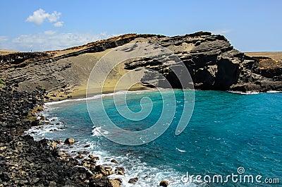 Papakolea / Green Sands Beach