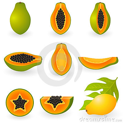 Free Papaya Stock Photos - 12422773