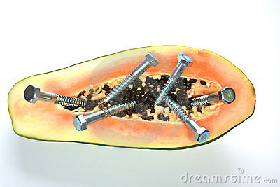Papaya genético modificada