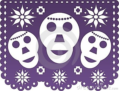 Papel picado stock images image 15581214 for Papel picado template for kids