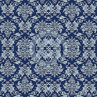 Papel pintado antiguo azul fotos de archivo imagen 4339293 - Papel pintado antiguo ...