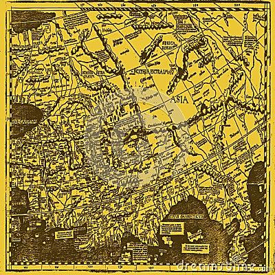 Papel pintado antiguo del mapa imagenes de archivo - Papel pintado mapa ...