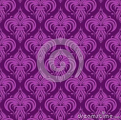 Papel pintado incons til antiguo violeta - Papel pintado antiguo ...