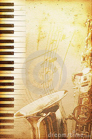 Papel velho do jazz