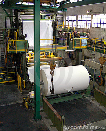 Free Paper And Pulp Mill Stock Images - 5710474