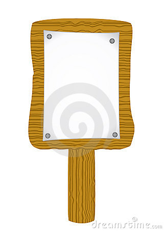 Free Paper Attach To Old Wooden Billboard Royalty Free Stock Photo - 11545445
