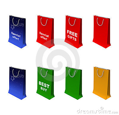Free Paper-bag Royalty Free Stock Images - 368449