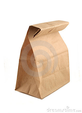 Free Paper Bag Royalty Free Stock Photography - 902577