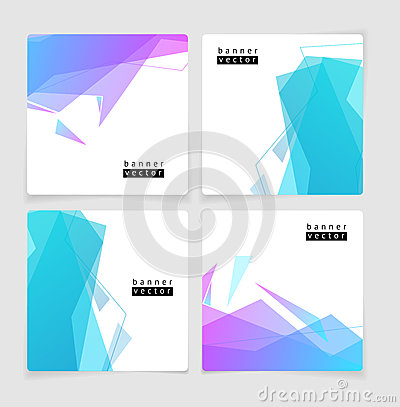 Paper Banner Blank. Vector Vector Illustration