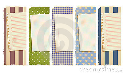 Paper banners -horizontal