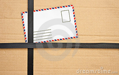 Paper box package with Old envelopes