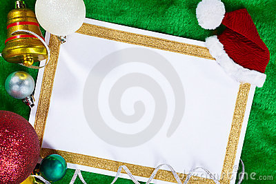 Paper and Christmas Ornaments